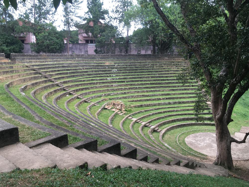 Ampitheatre at Peradeniya