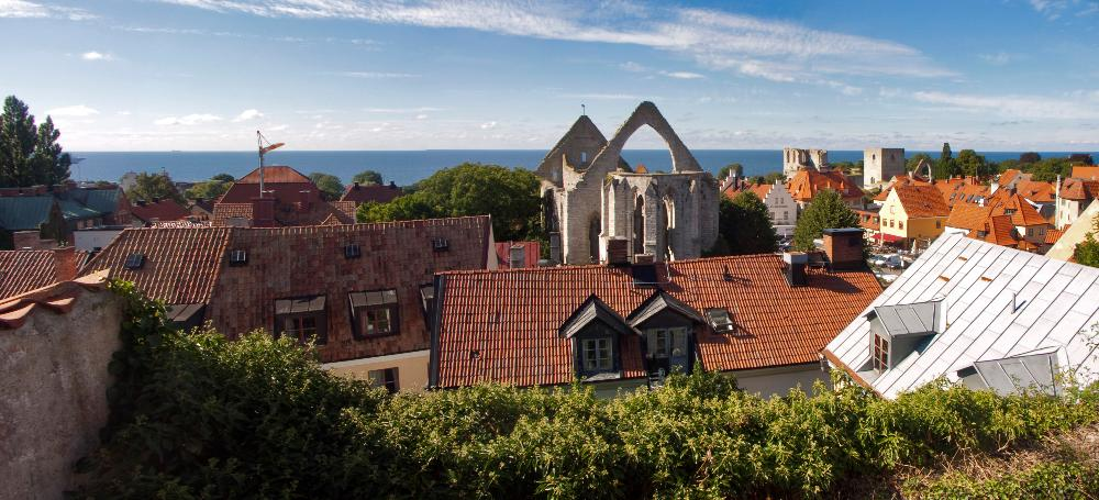 Visby panoramic shot
