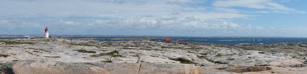 Hållö island panoramic shot
