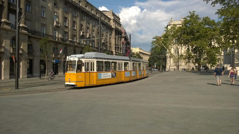 Streetcar in Budapest